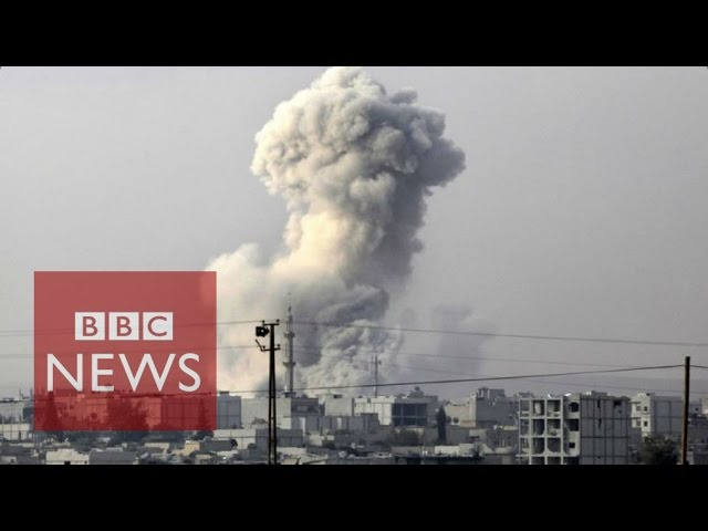 Air strike frequency - IS fight v WW2 - BBC News