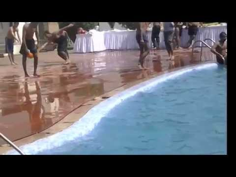 Slip in pool epic fails youtube for Epic pool show