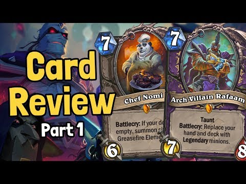 New Cards! Rafaam, Kalecgos, & More! - Rise of Shadows Review Part 1 - Hearthstone