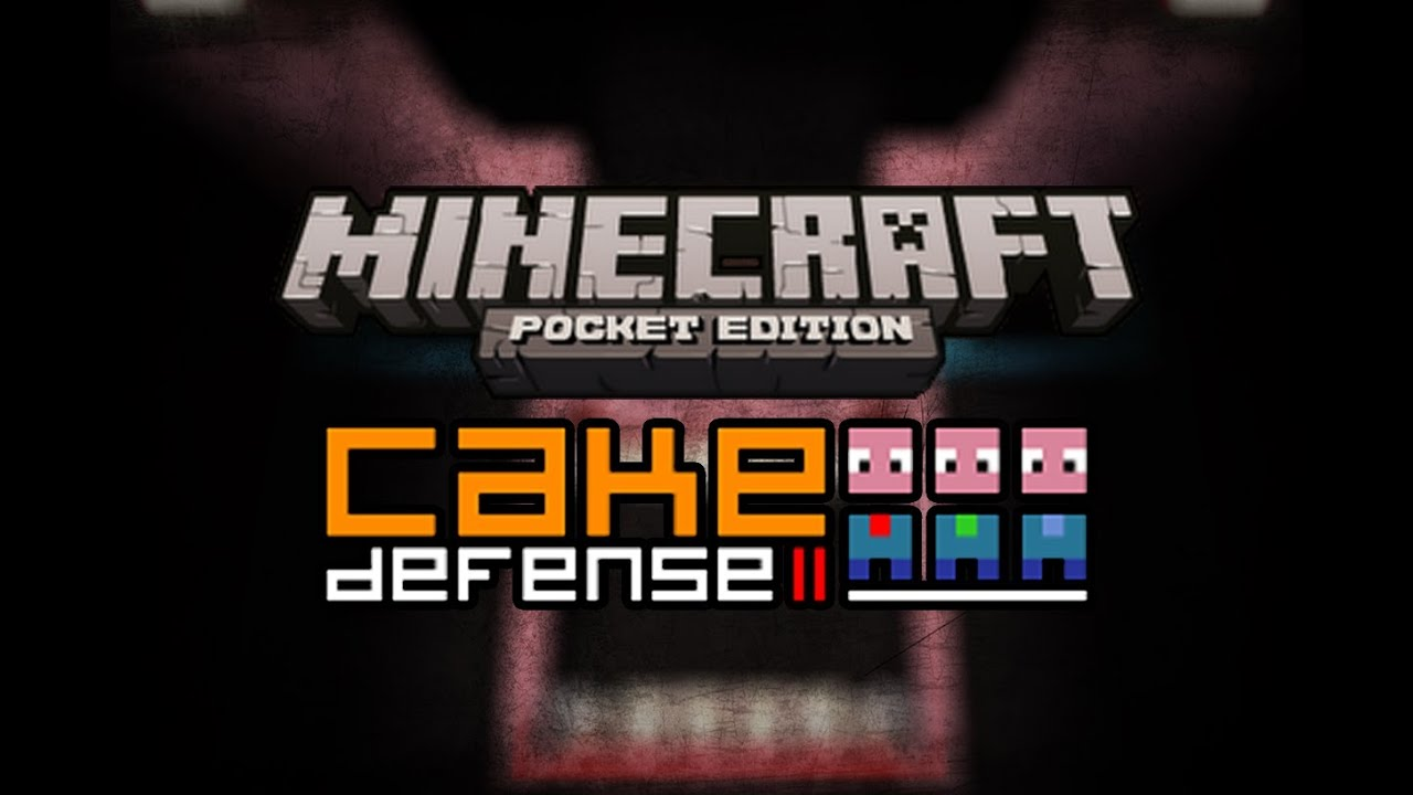 Cake Defense Minecraft Pe