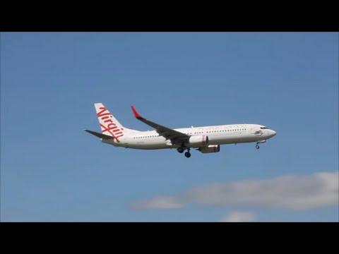 Virgin Samoa - B737-3 - Landing - Auckland Intl. Airport
