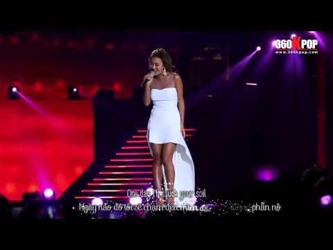 [Vietsub] Hyorin (SISTAR) - Hello Vietnam @ 150328 Music Bank in Hanoi [360Kpop]