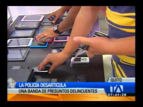 La Policía desarticula una banda delincuencial dedicada el robo de casas en Quito