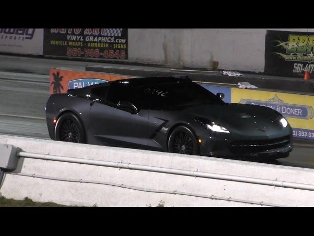 Z06 Killer - Supercharged C7 Corvette Runs 11.0 @ 133mph