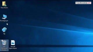 Windows 10 Checkbox (Onay Kutucuğu) Kaldırma