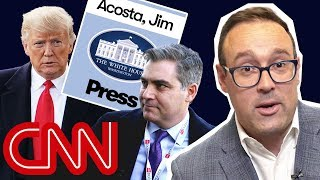 Why the battle for Jim Acosta's press badge was a big deal | With Chris Cillizza