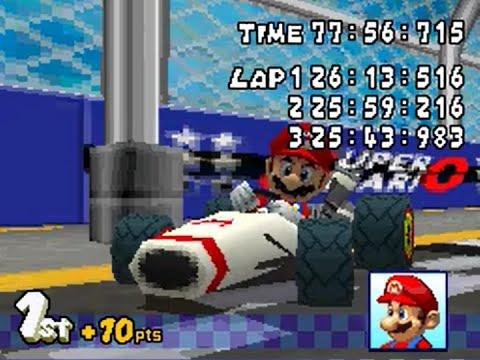 Mario Kart 1cc Mode (YES... I SAID 1cc)
