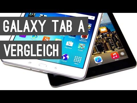Vergleich: Samsung Galaxy Tab A vs. iPad Air | Deutsch