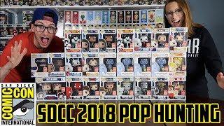 SDCC 2018 Funko Pop Hunting