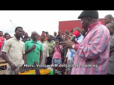 Delta state Government Visits Flooded Areas, Sets Up Rehabilitation Camps