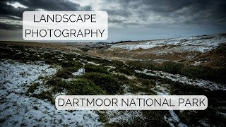 LANDSCAPE PHOTOGRAPHY | SNOWY DARTMOOR | BEN KAPUR PHOTOGRAPHY