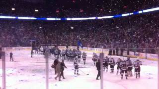 Canucks Western Conference Champs - Confetti Drop Rogers Ar