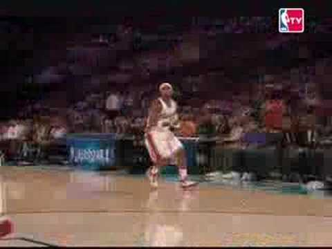 Daniel Gibson MVP Rookie - Sophomores - 11 3 pointers Record Video
