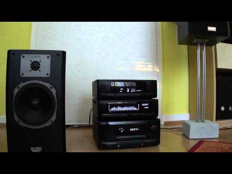 KENWOOD UD-70 High End mini Hi-Fi System with Quadral Dauphin Phonologue