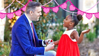 Paisley Goes to First Daddy Daughter Dance | Behind the Braids Ep.24