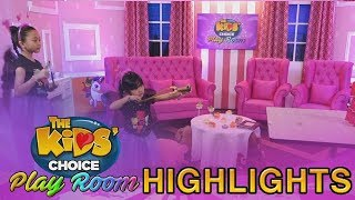 The Kids' Choice PH Play Room: Kaycee and Rachel have some slingshot acts