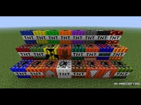 Moduri Minecraft - Modul TooMuchTNT: 35 DE TNT-URI NOI!!!