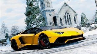 GTA 5 Lamborghini Aventador MOD |  Police Chase & Showcase