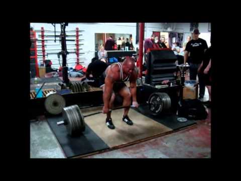 Eric Lilliebridge- Deadlift Training Week 3, 370kgs (815lbs) Image 1