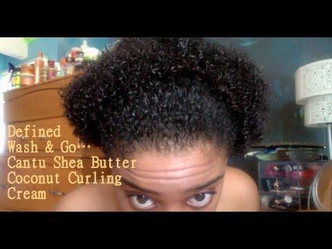 In Love Cantu Shea Butter Coconut Curling Cream Youtube