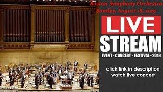 LIVESTREAM: Boston Symphony Orchestra (LIVE) at Lenox MA US
