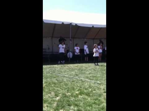 Kids Dancing To Cupid Shuffle And Do Harlem Shake video