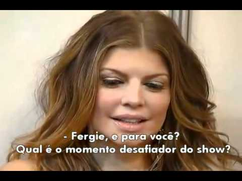 Fergie revela o momento mais tenso durante o show