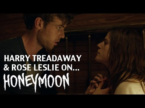 Harry Treadaway, Rose Leslie HONEYMOON Interview - NEW