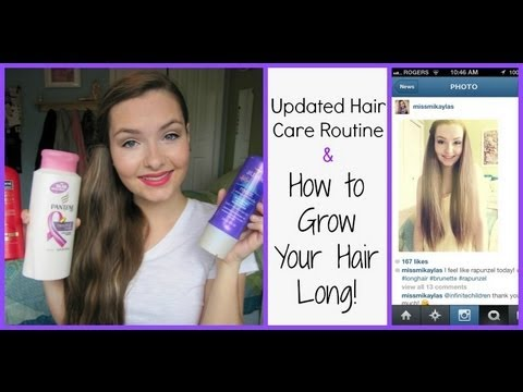 How to Grow Your Hair Long & Updated Hair Care Routine!
