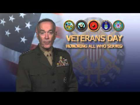 CJCS Gen. Joseph F. Dunford's Veterans Day Message