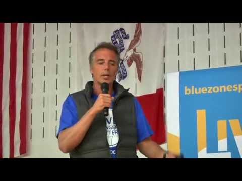 Dan Buettner Kicks-off Oskaloosa Blue Zones Project