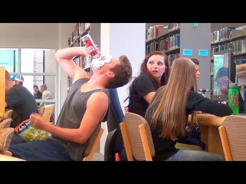 Loud Eating in the Library!