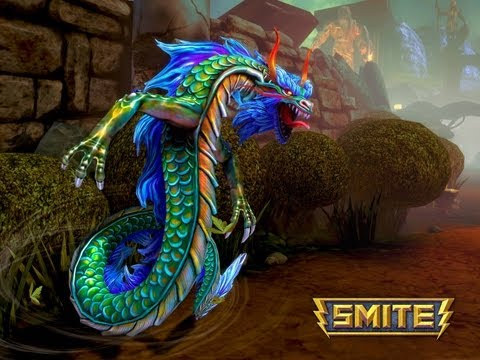 Prsentation SMITE MOBA 3D !