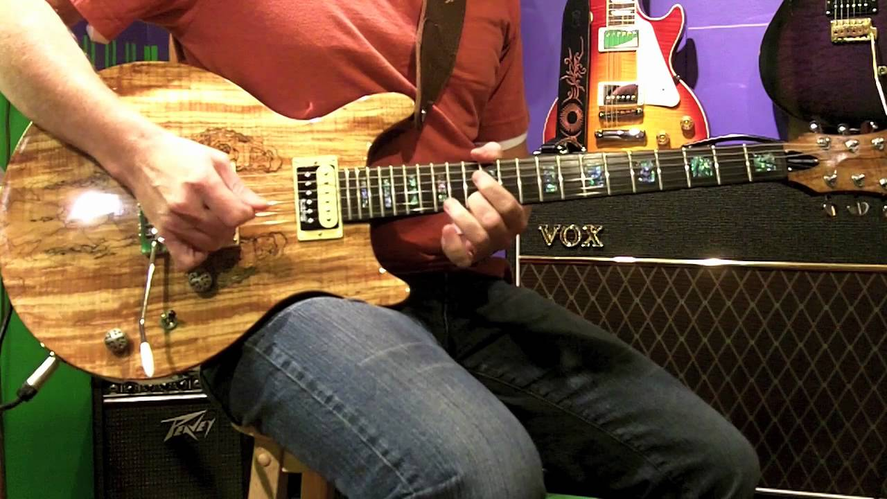 Spalted Maple Guitar Michael Kelly Guitar Tone Michael Kelly