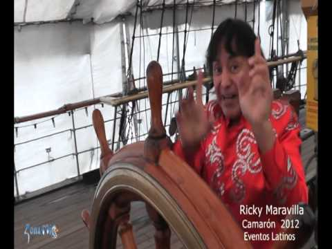 Ricky Maravilla   Camarón   versión HD 2012 Puerto Madero Buenos Aires  Evento