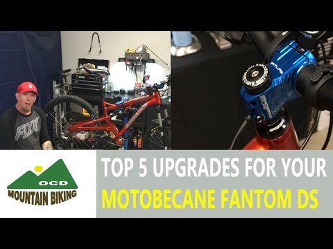 5 upgrades to make to your Motobecane Fantom DS 29er a little more capable