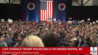 Full Speech HD: Donald Trump Speaks to Fired Up Crowd in Grand Rapids, MI (12-21-15)