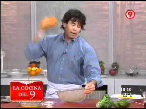 Hamburguesas de pollo con aros de cebolla 2 de 4 ariel for Cocina 9 ariel rodriguez palacios pollo relleno