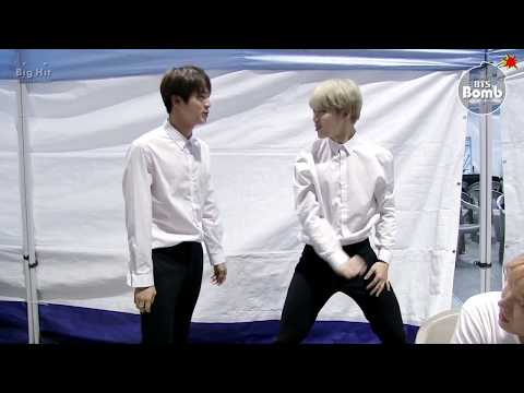 [BANGTAN BOMB] Jin's personal practice 'FIRE' @ SBS 가요대전 2016 - BTS (방탄소년단)