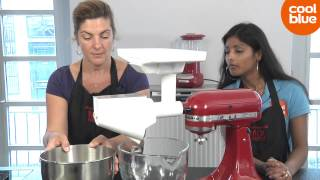 KitchenAid Fruit en Groentezeef 5FVSP videoreview en unboxing (NL/BE)
