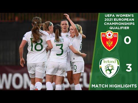 #IRLWNT HIGHLIGHTS | Montenegro 0-3 Ireland