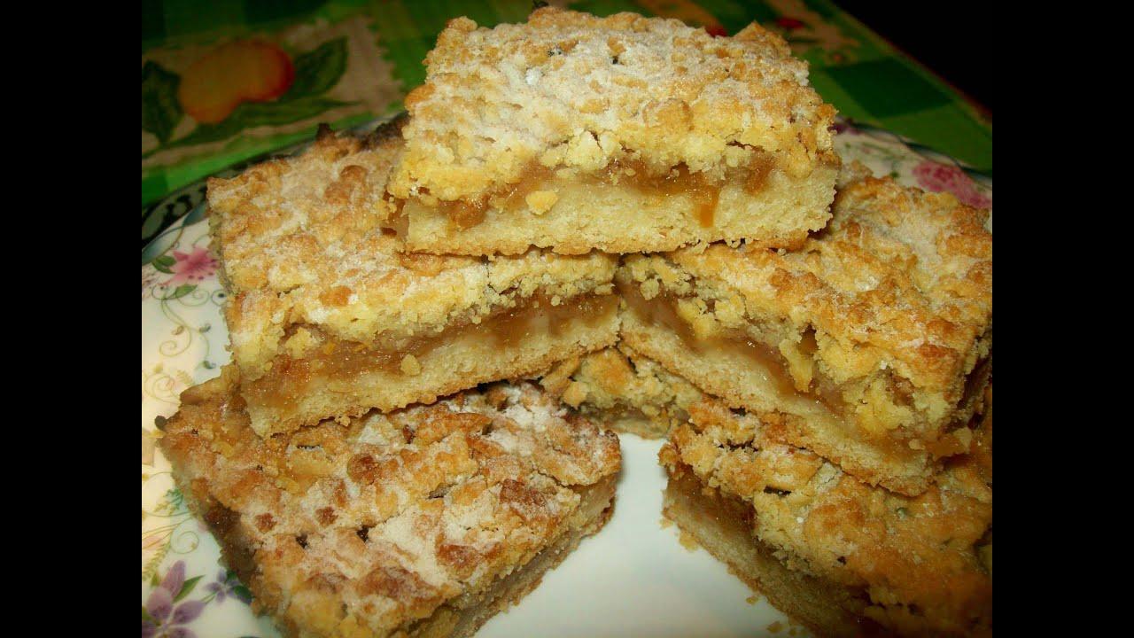 Тертый пирог с яблоками пошаговый рецепт