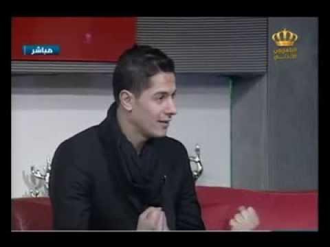 لقاء نجم ستار اكاديمي 9 مصعب الخطيب على التلفزيون الأردني  مع لانا القسوس