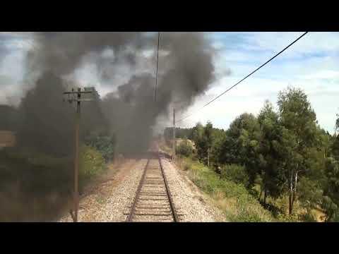 Tren de la Araucanía 26/02/2012 - Primera Parte: Viaje de Temuco a Victoria