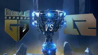 Mundial 2018: Gen.G x Royal Never Give Up (Jogo 1) | Fase de Grupos - Dia 2