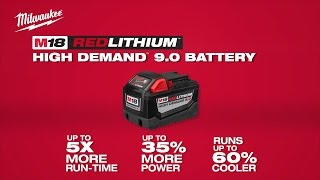 Milwaukee® M18 REDLITHIUM™ 9.0 Battery