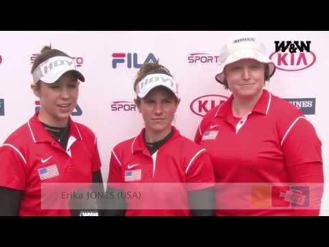 W&W Archery Fan Reporter - Shanghai Day 3 - Team Compound Qualifications - World Cup 2013