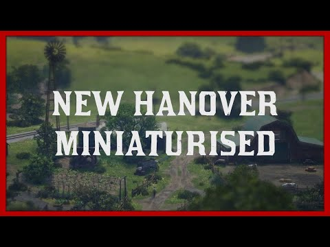 RDR2 Tilt Shift - New Hanover Miniaturised - #7