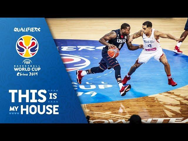 Puerto Rico vs USA - Highlights - FIBA Basketball World Cup 2019 Americas Qualifiers