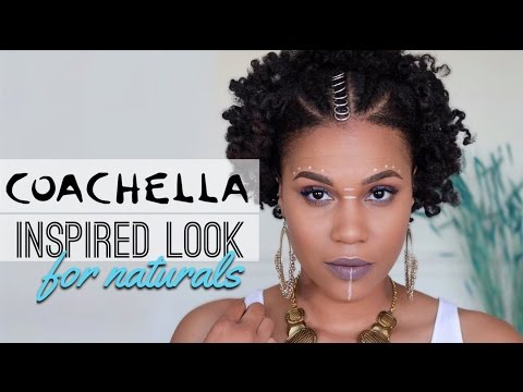 Coachella Inspired Hairstyle For Naturals